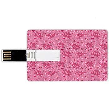 16GB Forma de tarjeta de crédito de unidades flash USB Ángel ...
