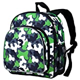 Green Camo Pack 'n Snack Backpack