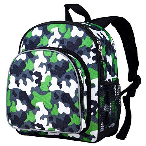 Green Camo Pack 'n Snack Backpack