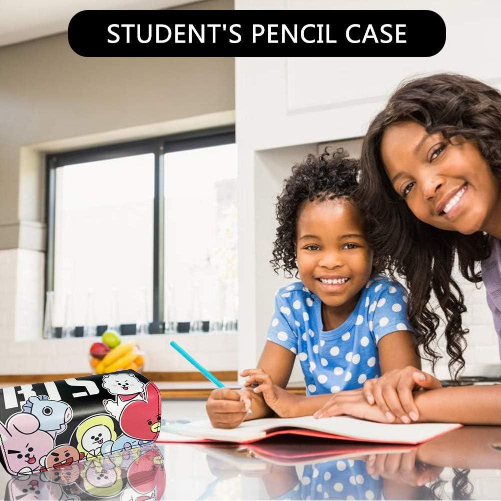 BTS Trousse /à Crayons 3D Imprimer Trousse /à Crayons BTS Sac /à Crayons BESLIME Sac /à Crayons BTS Sacs /à cosm/étiques Porte-Crayons Fournitures Scolaires BTS Papeterie Cadeau