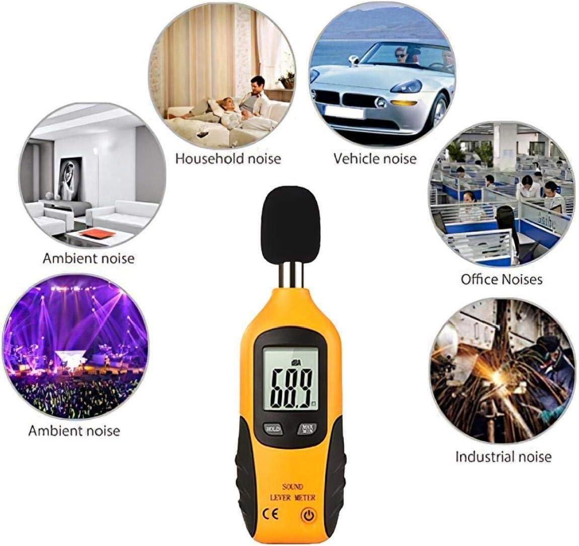 Digital Handheld Decibel Noise Measurement Sound Level Meter Mini Portable Digital LCD Display dB Meter Precise