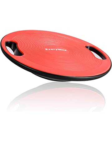 Everymile Wobble Balance Board, Exercise Balance Stability Trainer Portable Balance Board with Handle for Workout