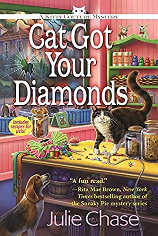 book cover of Cat Got Your Diamonds