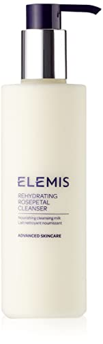 ELEMIS Rehydrating Rosepetal Cleanser- Nourishing Cleansing Milk, 6.7 Fl.Oz.