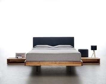 Mazzivo Smooth Hochwertiges Holz Bett Schlicht Zeitlos