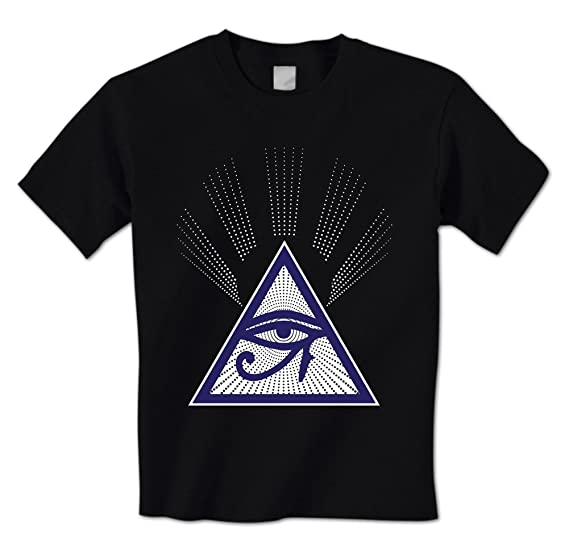 Amazon All Seeing Eye Graphic Symbol New World Order Mens T