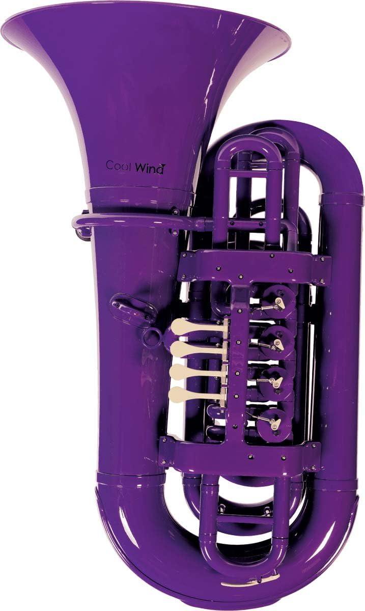Cool Wind CTU-200 Series 4-Valve BBb Tuba Purple