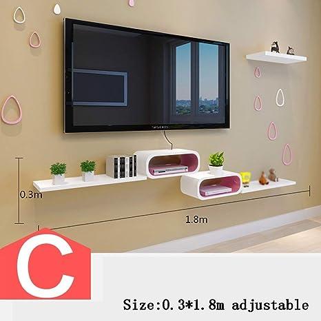 Conjunto de Gabinetes para Tv - Caja Superior Estantes Caja de ...