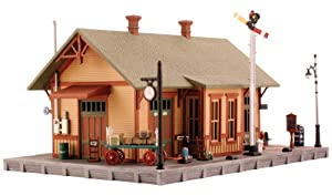 Woodland Station N Scale Kit