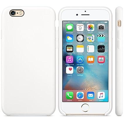 c0c734f755aa0 For iPhone 6S Plus 5.5inch Case, Keklle Luxury Fashion Ultra-thin Silicone  Case Skin (White)