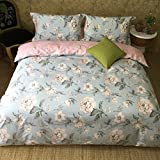 WaaiSo Simple Pure Cotton Soft Comfortable Bedding Collections Bedding Sets Four set for chlidren,student and bedroom,1.8m(suitable suitable 6 inches bed),&207