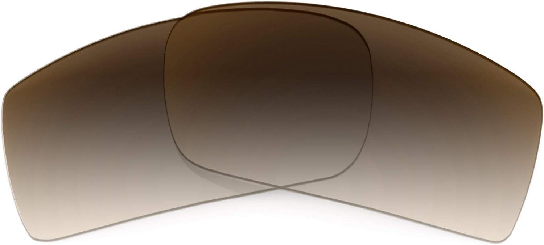 Revant Verres de Rechange pour Oakley Gascan - Compatibles avec les Lunettes de Soleil Oakley Gascan Dégradé Marron - Non Polarisés