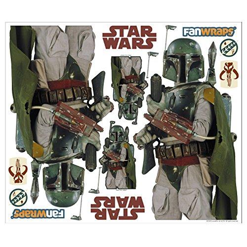 FanWraps Star Wars Boba Fett Vehicle Graphics Kit, Large