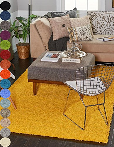 A2Z Rug Shaggy Collection 4x6 Feet product image