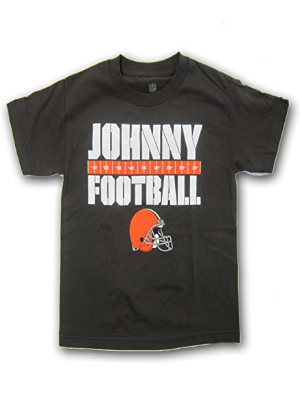e217d1b40e4 Amazon.com   Johnny Football Manziel Cleveland Browns Youth T-shirt ...