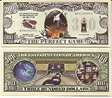 Bowling $300 Dollar Novelty Bill Collectible