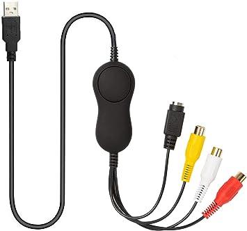 Eagle Smart Plug & Play - Convertidor de VHS a digital Hi8 AV DVD RCA S-video a USB tarjeta de captura de vídeo compatible con Windows Mac OS sistema Android: Amazon.es: Electrónica