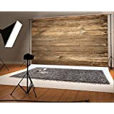 Seamless Backdrop Gray Wood Photo Backgrounds Wood Wall Wrinkle free Photography Backdrops wd1772 (7x5ft)