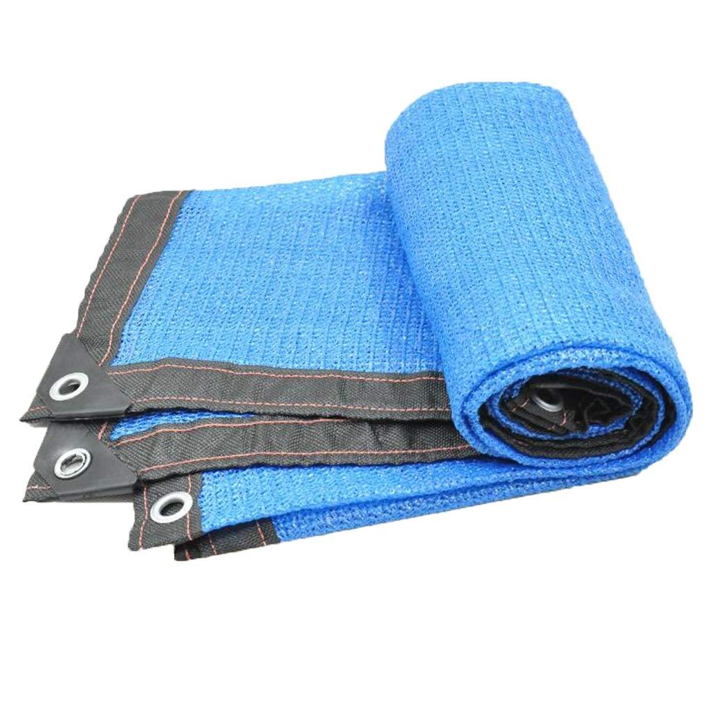 XEWNEG Ombretto Blu per Esterno con Protezione Solare per Esterni flessuoso (Dimensioni   4  4m)