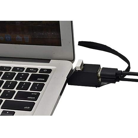 Mini USB 2.0//3.0 Hub 3 Ports Portable USB Hub 480 Mbps High Speed Hub SALE
