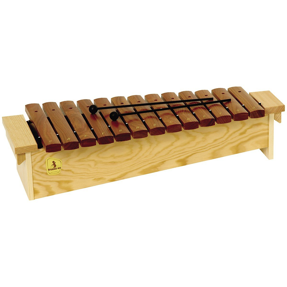 Studio 49 Series 1600 Orff Xylophones Diatonic Soprano, Sx 1600