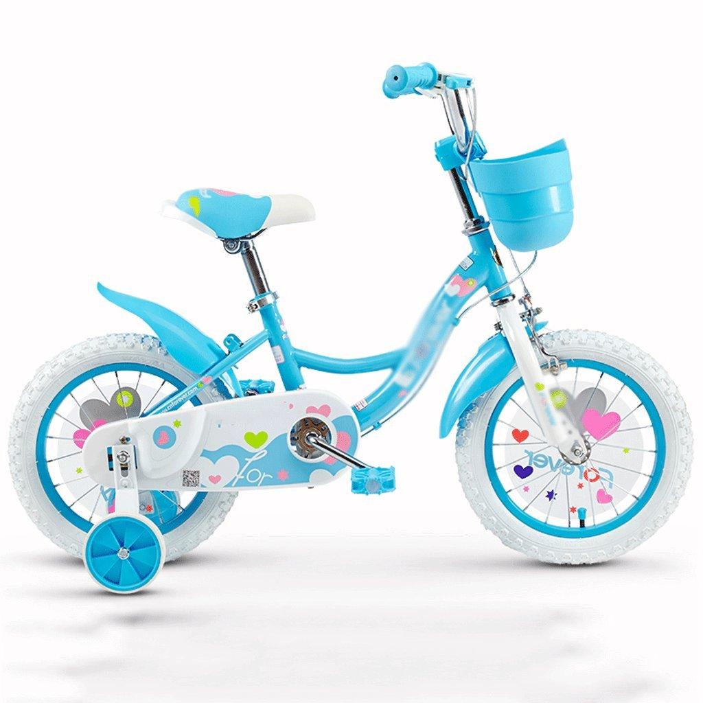 DUWEN 子供用 自転車 子供用 自転車 女の子 2-3-4-6-7-8-9-10歳 ベビー ペダル 自転車 子供 女の子 赤ちゃん B07DZZ6R3C   14 inch