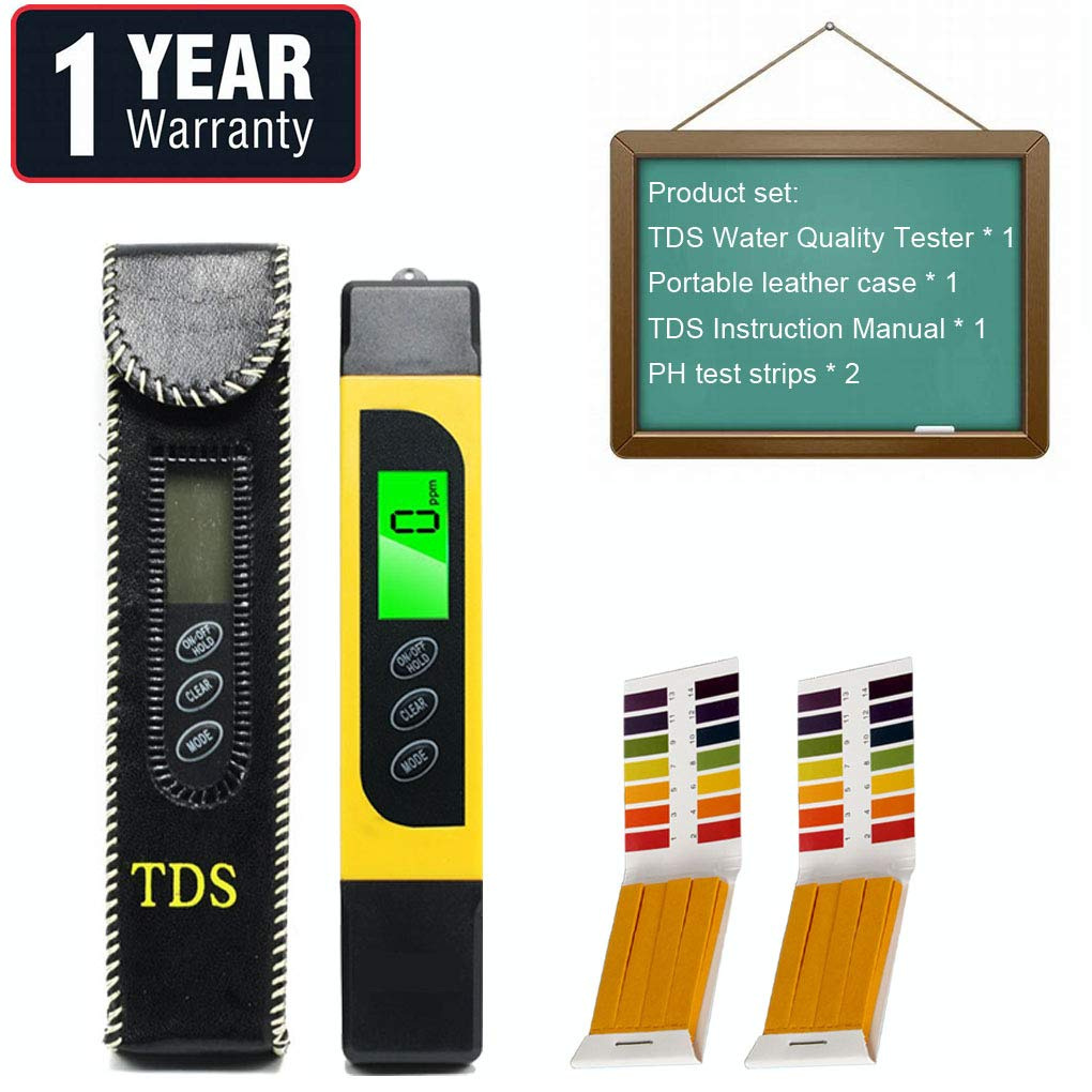 Water Tester Digital Tds Meter, EC Meter, PPM