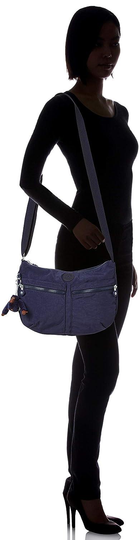 Kipling kvinnors Icellah handväskor Blue (Active Blue)