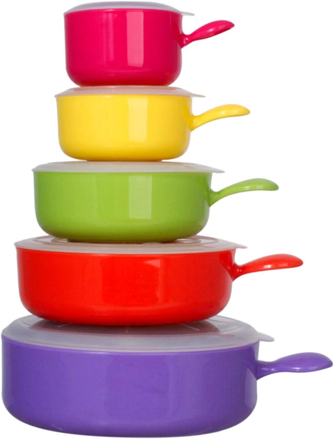 Plastic Bowls Microwave Safe, Freezer Safe – BPA Free Soup Bowls Microwave Safe, Dishwasher & Freezer Safe – Plastic Bowls with Lids – Food Storage Bowls