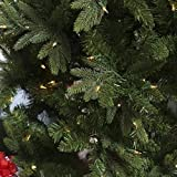 Natural Cut Salem Spruce Christmas Tree with Instant Glow Power Pole