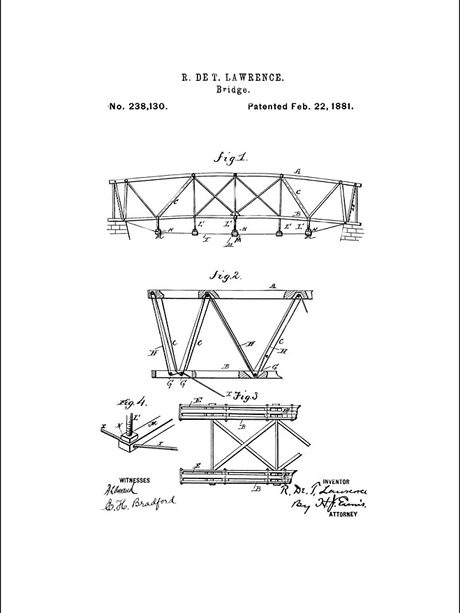 Amazon Com Framable Patent Art Papxssp241w The Original Ready To