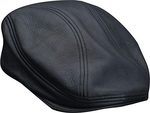 Stetson Men s Oily Timber Leather Ivy Cap at Amazon Men s Clothing ... 070382bdffe