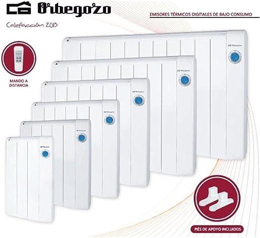 Blanco W Orbegozo RRE 1300 EMISOR T/ÉRMICO DIGITAL