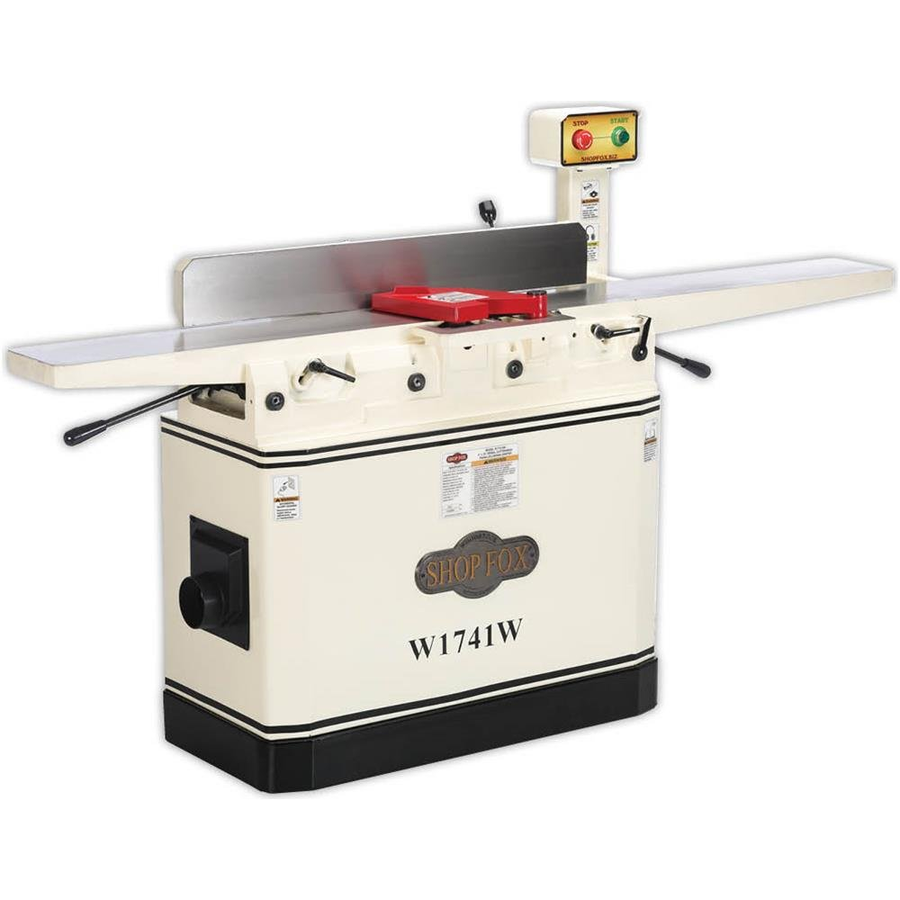 Shop Fox W1741W 8' Jointer with Adjustable Beds, NULL Woodstock International INC