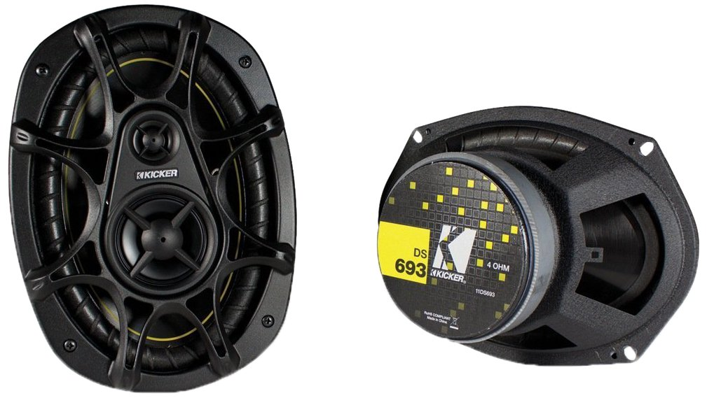 "Kicker DS693 6""x9"" 3-Way Speakers"