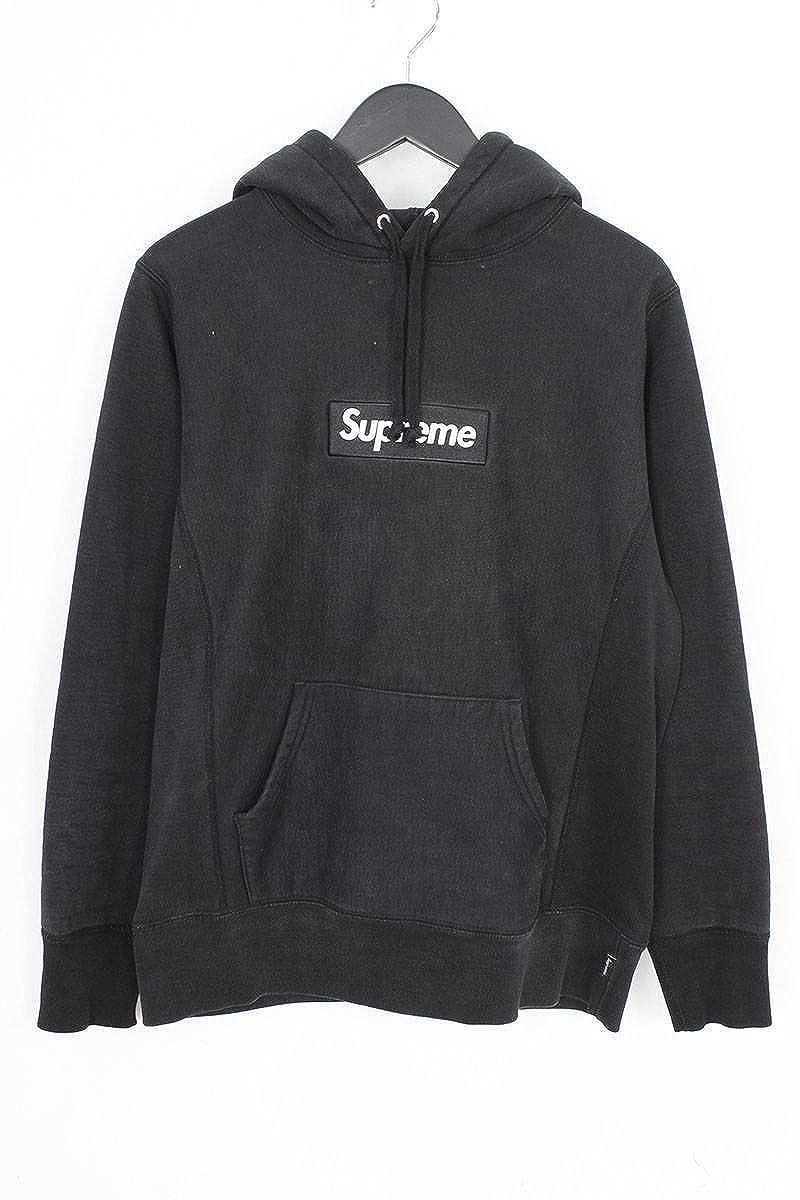 (シュプリーム) SUPREME 【12AW】【Box Logo Pullover】ボックスロゴプルオーバーパーカー(S/ブラック) 中古 B07FPHR9L9