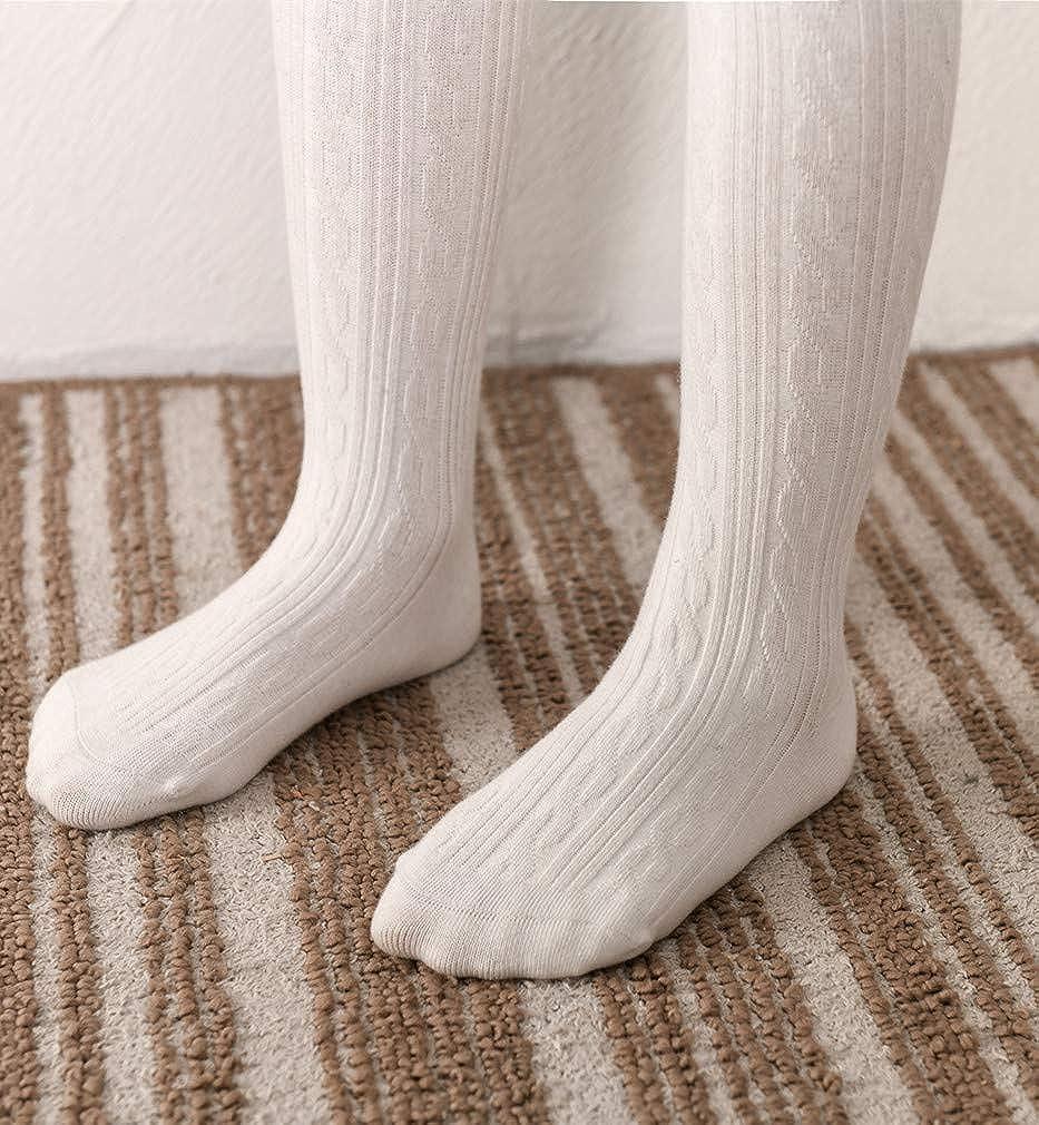 Xcompression Baby Pantyhose Knit Cotton Tights Girls Soft Leggings Toddler Solid Knit Socks Warm Stockings Newborn Pants
