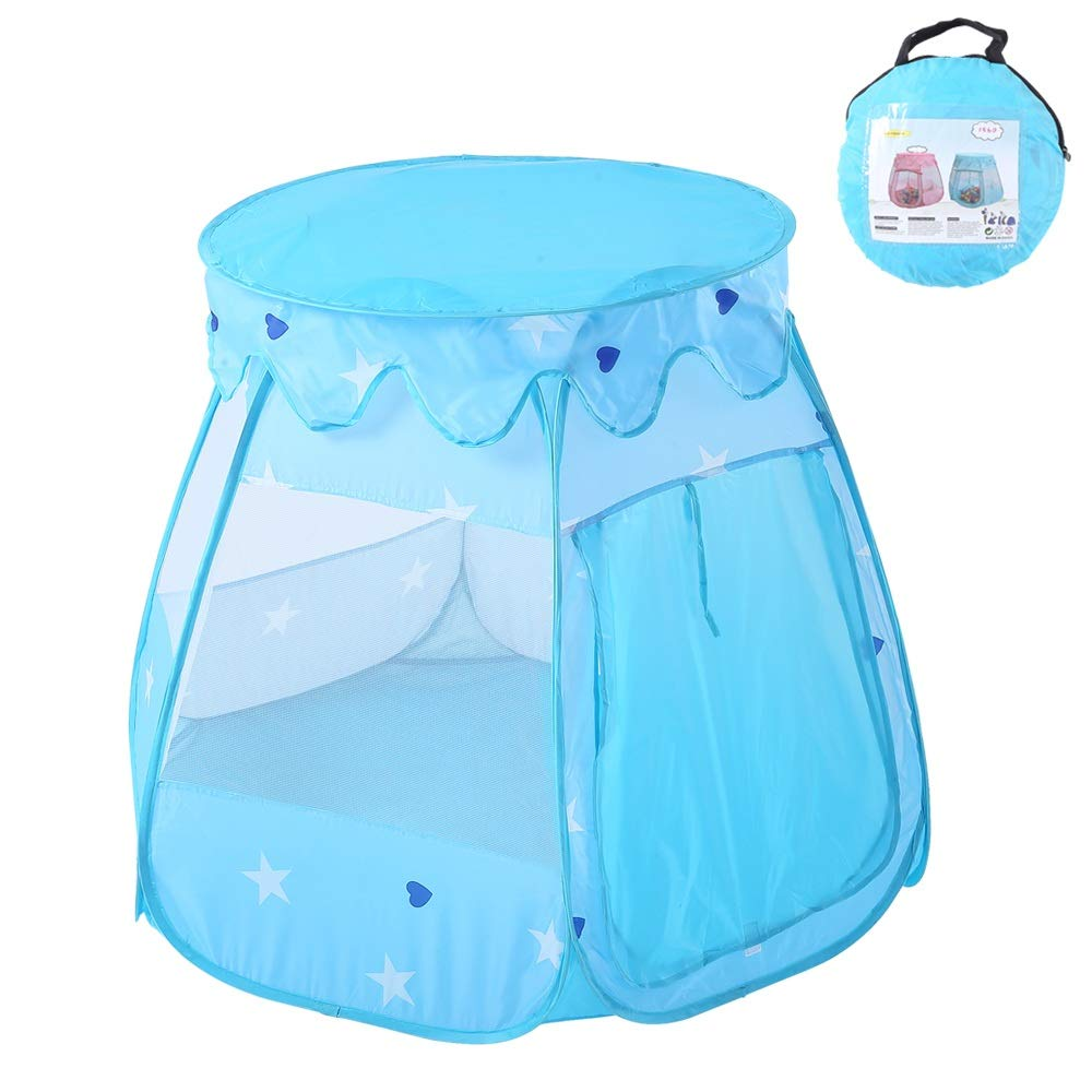 Canyixiu Play Tent for Boys Or Girls - Hexagonal Kids Tent, Portable Kids Play Tent, Outdoor Indoor Play Tent for Kids Or Toddlers (Color : Blue)