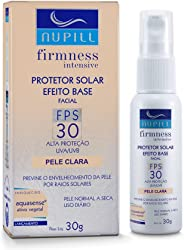 Protetor Solar Facial FPS30 Base Clara Nupill 30g, Nupill, Bege Claro