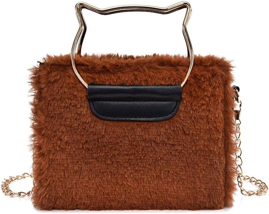 LEKODE Women Backpack Simple Shoulder Bag Ladies Crossbody Bag Strap Zipper Travel Handbag Pink