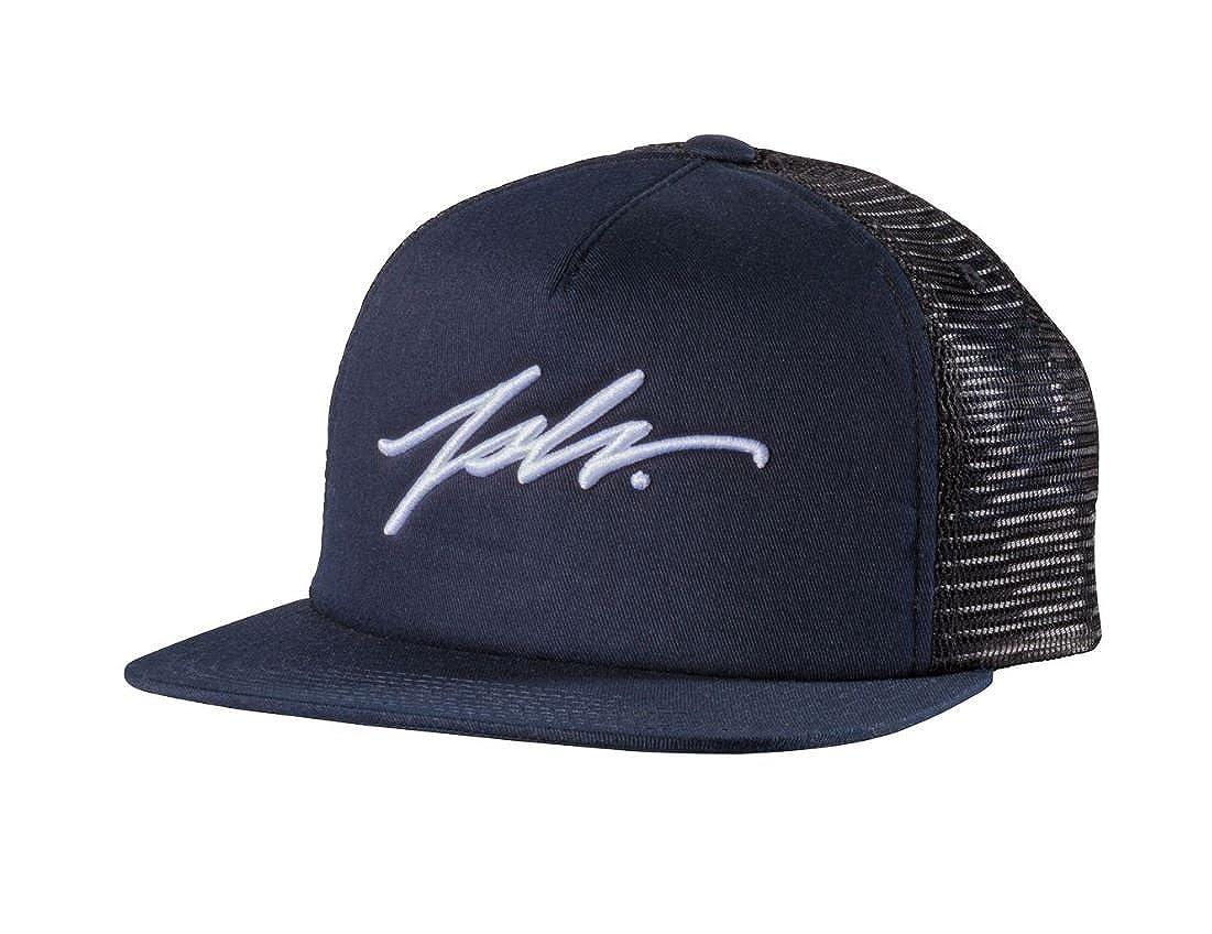 JSLV Signature Trucker Hat Navy Blue at Amazon Men s Clothing store  0e45cbf02c1