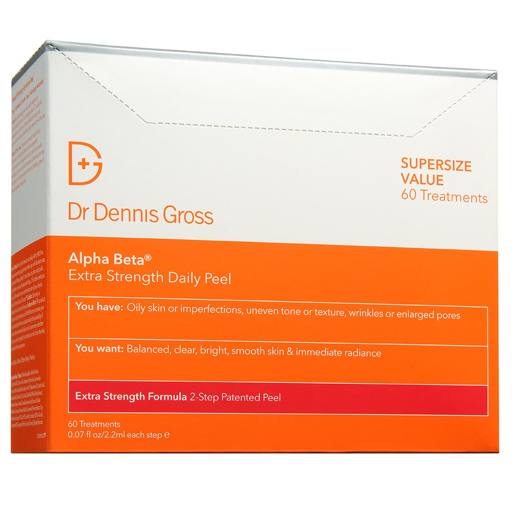 Dr. Dennis Gross Skincare Alpha Beta Peel, Extra Strength, 60 Count BOX by Dr. Dennis Gross Skincare