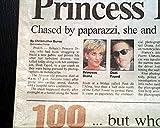 LADY DIANA Princess Early Same Day PARIS France Car
