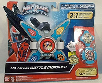 Amazon.com: Power Rangers Ninja Steel Limited Edition Color ...