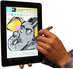 MiTAB Capacitive Stylus, Styli Touchscreen Smart Phone & Tablet Pen Compatible With The Compatible With The Apple iPad 16 GB 32 GB 64GB (Ideal Compatible With The app Draw Something) & The New iPad 4th generation with Retina Display