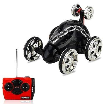 KOBWA RC - Coche con Mando a Distancia para Coche con Ruedas, 360 Grados de Giro, Juguete para vehículos: Amazon.es: Hogar