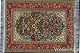 Non-slip Rug Mouse Pad with Oriental Design - Turkish Carpet Design Mousemat