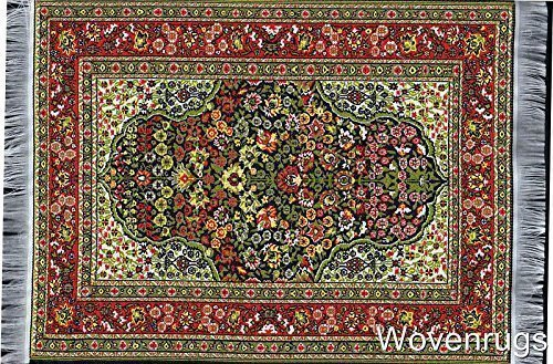 Wovenrugs Non Slip Rug Mouse Pad With Oriental Design