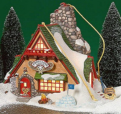 Dept. 56 North Pole Series Frosty Pine Outfitters (Pole Series 56 North)