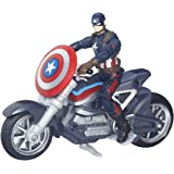 Marvel Avengers - Figura con vehículo Legends Civil War, 9 cm (Hasbro B6354EU4)